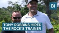 Business Insider Exclusive: Tony Robbins Hired The Rock's Trainer